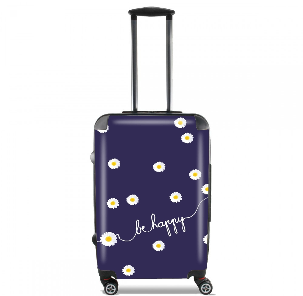 Happy Daisy for Lightweight Hand Luggage Bag - Cabin Baggage
