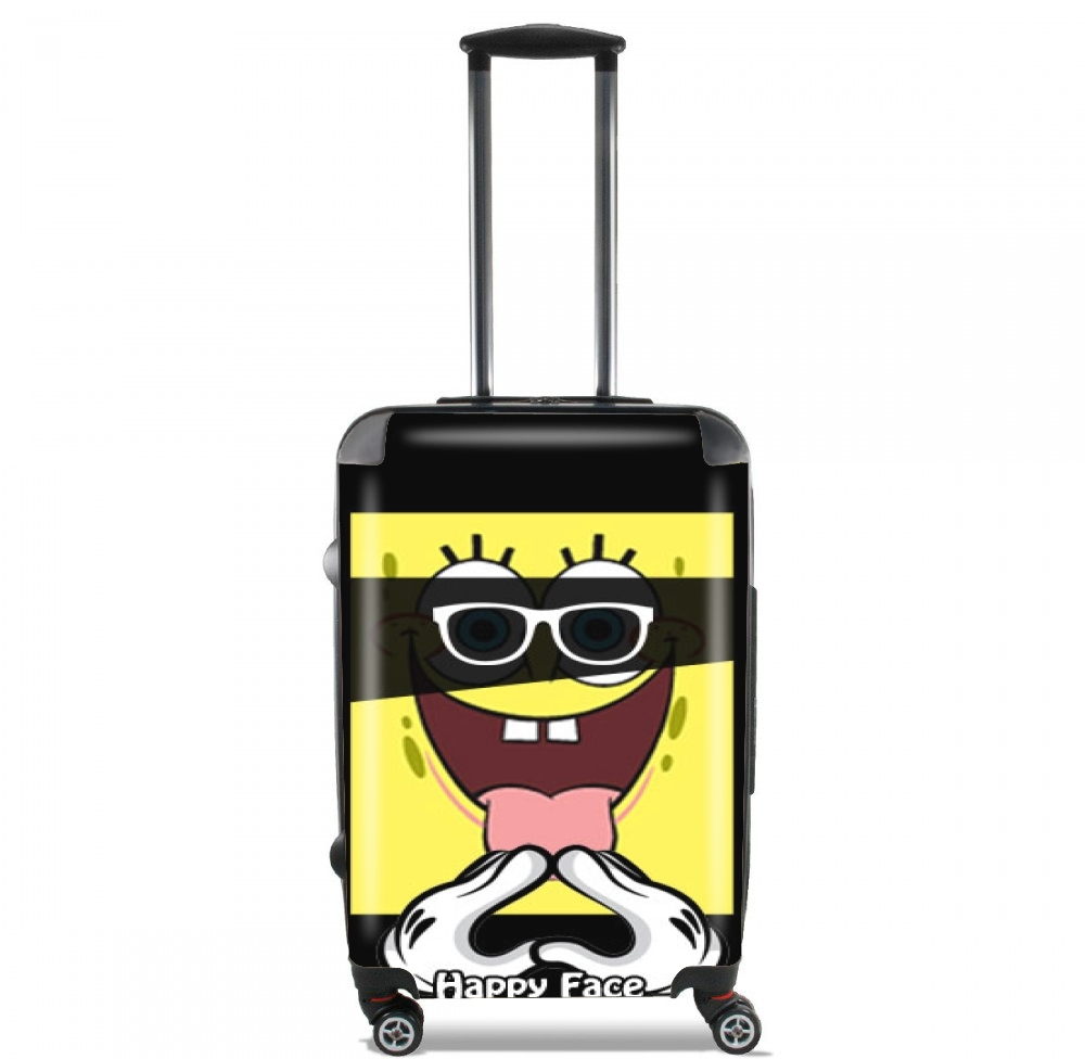 Happy Face Bob for Lightweight Hand Luggage Bag - Cabin Baggage
