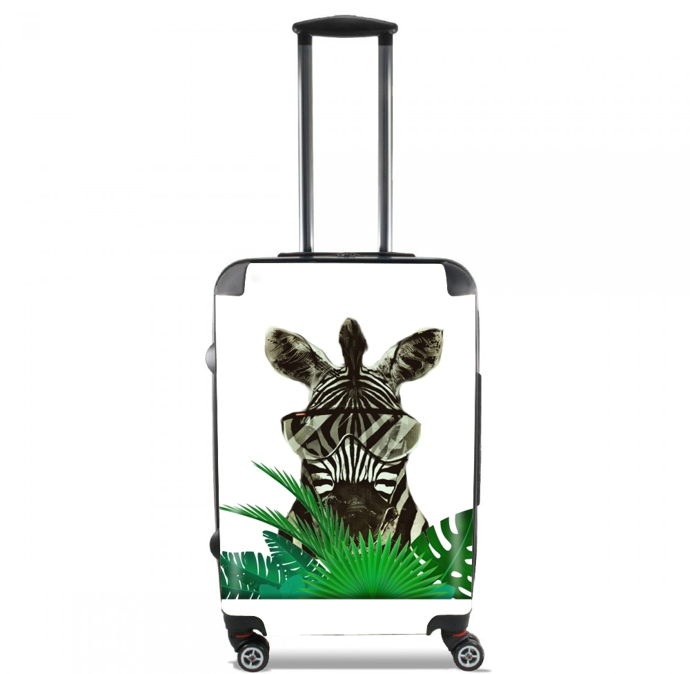 Hipster Zebra Style for Lightweight Hand Luggage Bag - Cabin Baggage