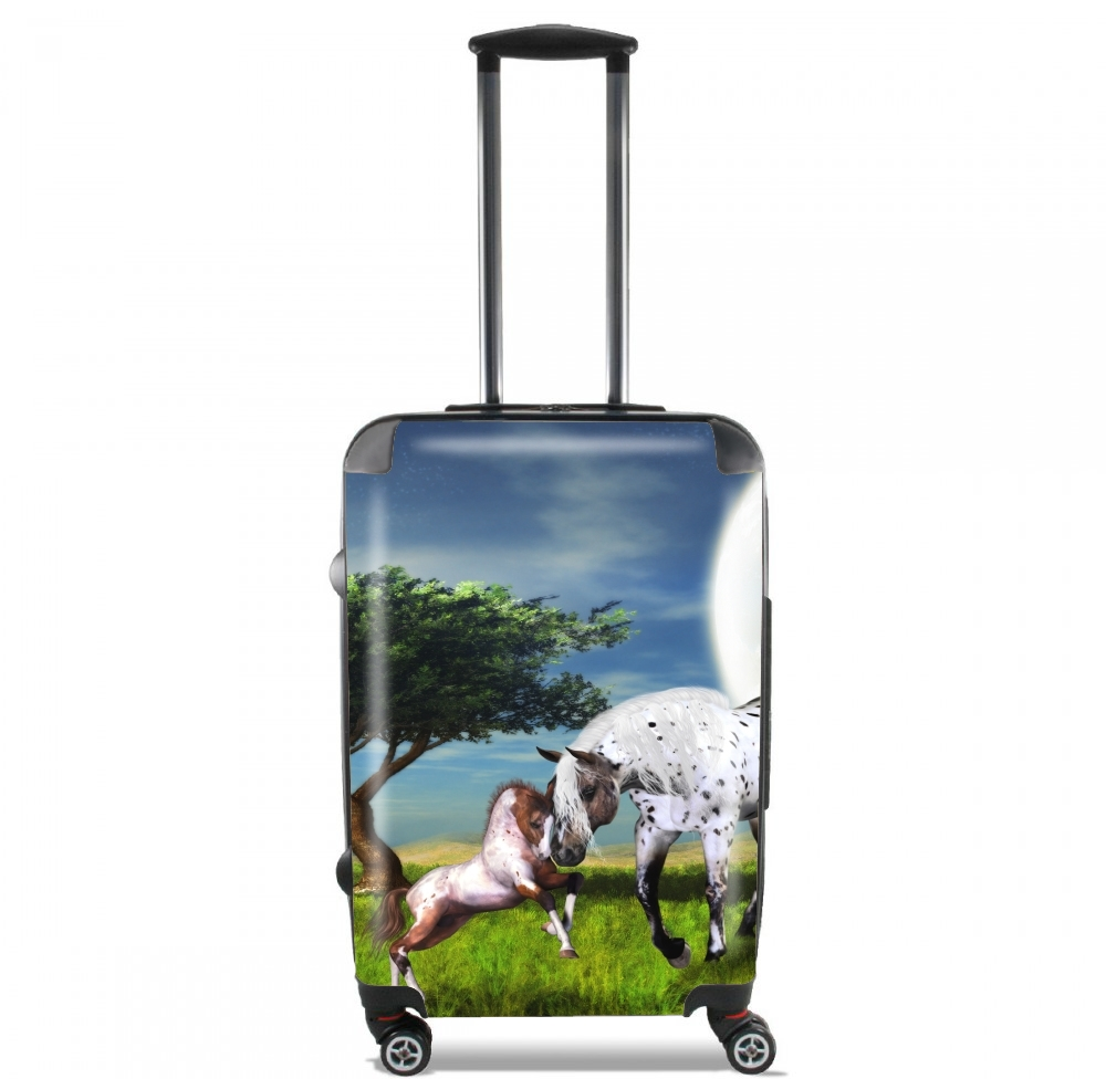Horses Love Forever for Lightweight Hand Luggage Bag - Cabin Baggage