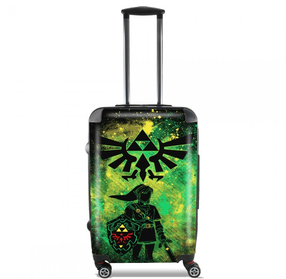 Hyrule Art for Lightweight Hand Luggage Bag - Cabin Baggage