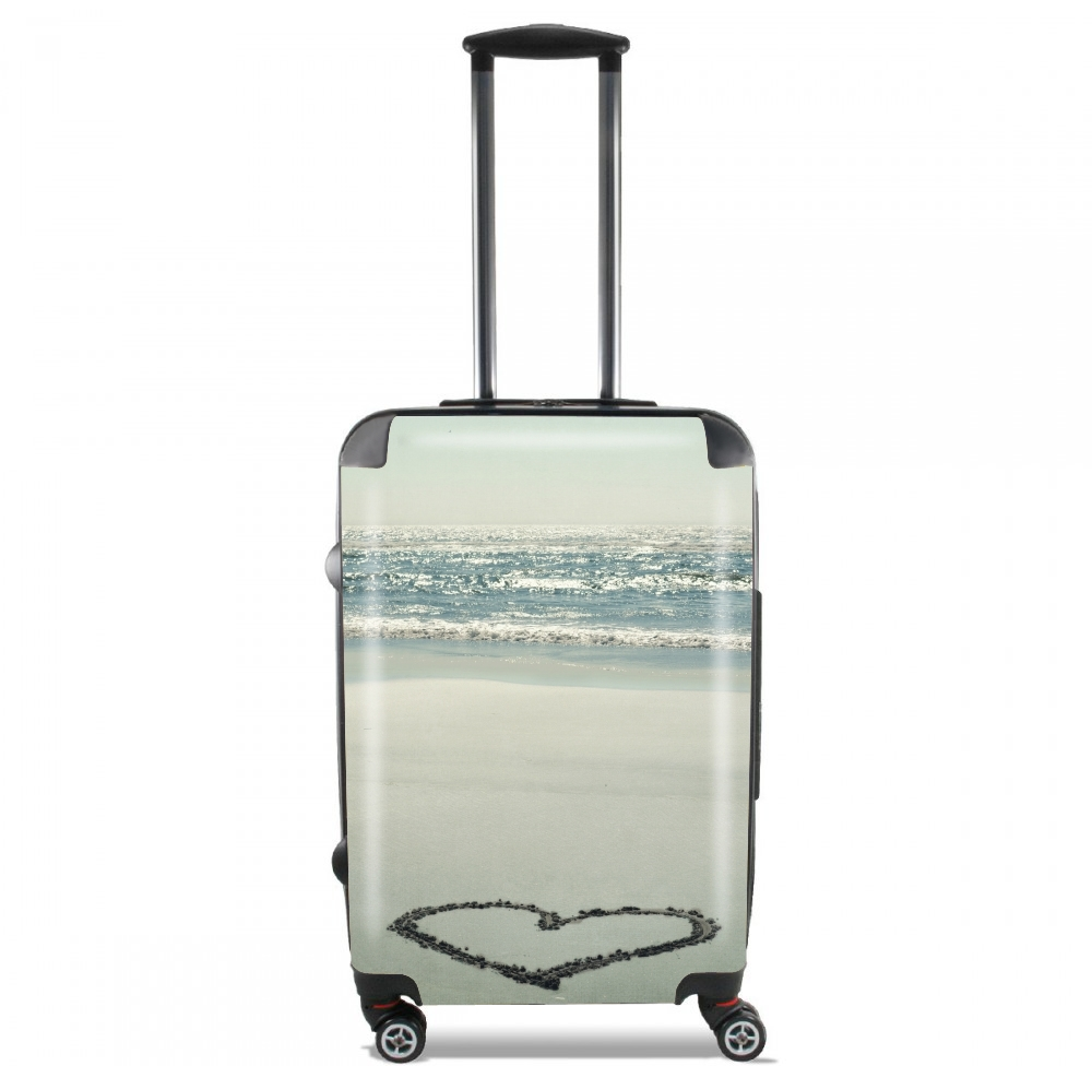 I Heart the Beach for Lightweight Hand Luggage Bag - Cabin Baggage