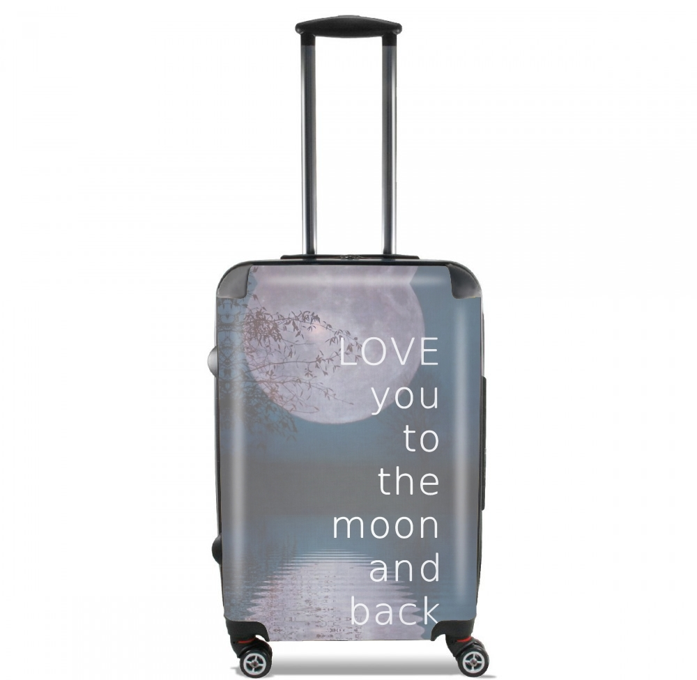I love you to the moon and back for Lightweight Hand Luggage Bag - Cabin Baggage