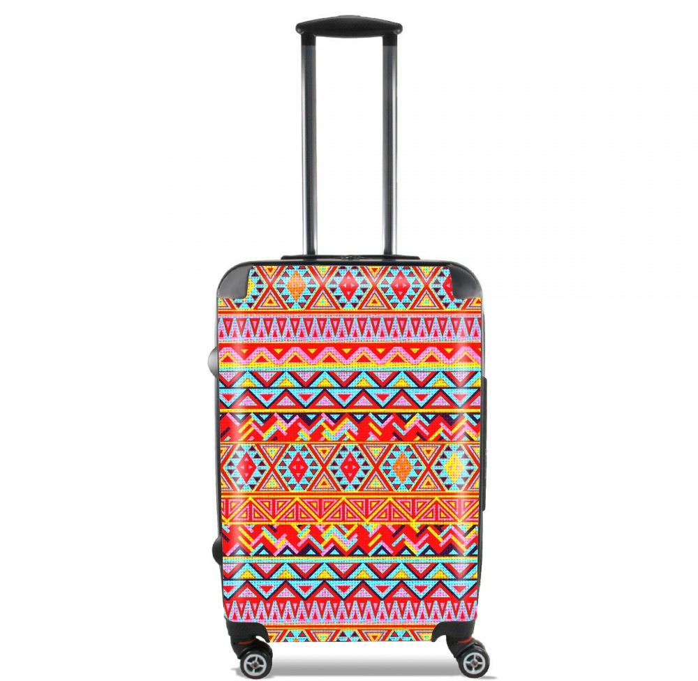 India Style Pattern (Multicolor) for Lightweight Hand Luggage Bag - Cabin Baggage