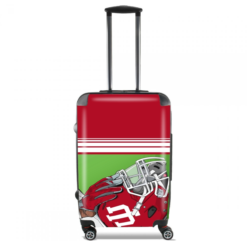 Indiana College Football for Lightweight Hand Luggage Bag - Cabin Baggage