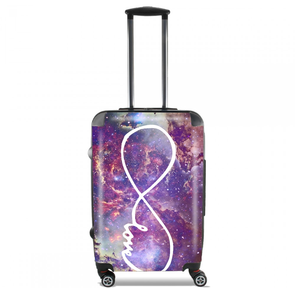 Infinity Love Galaxy for Lightweight Hand Luggage Bag - Cabin Baggage