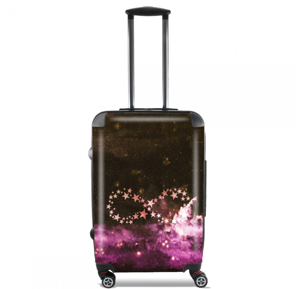Infinity Stars purple for Lightweight Hand Luggage Bag - Cabin Baggage
