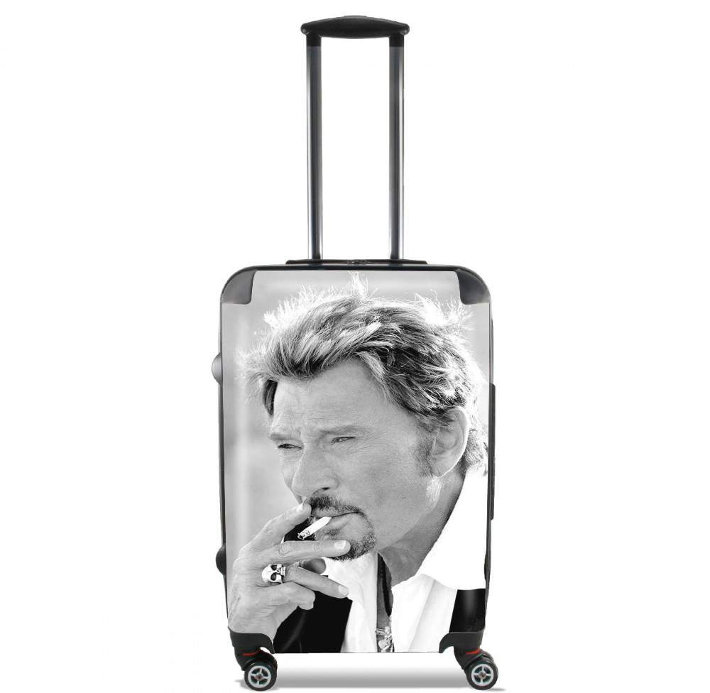johnny hallyday Smoke Cigare Hommage for Lightweight Hand Luggage Bag - Cabin Baggage