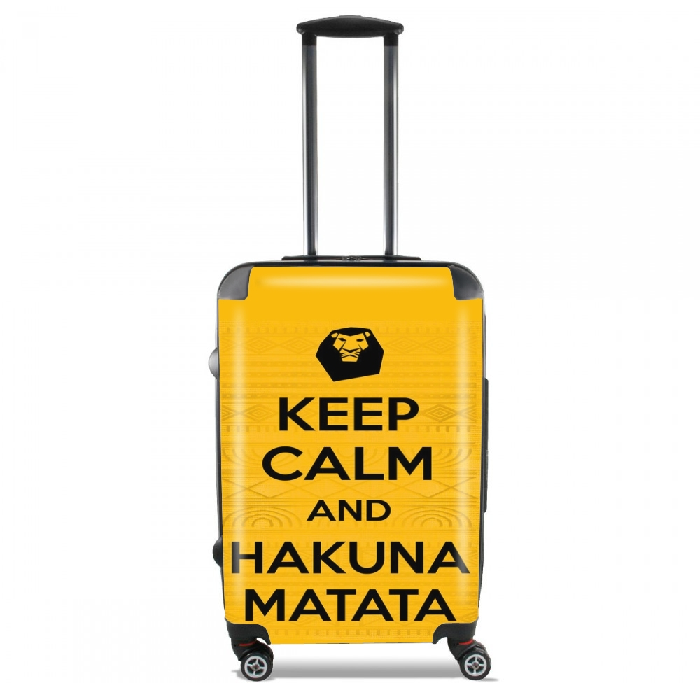 Keep Calm And Hakuna Matata for Lightweight Hand Luggage Bag - Cabin Baggage