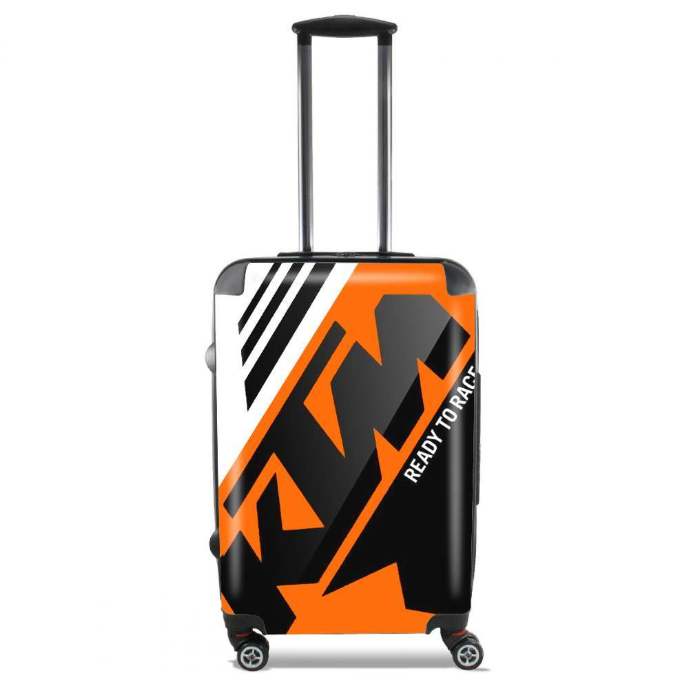 KTM Racing Orange And Black for Lightweight Hand Luggage Bag - Cabin Baggage