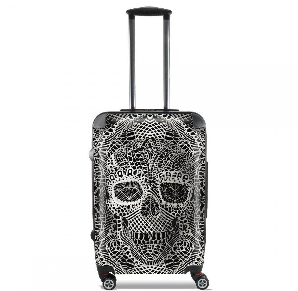 Lace Skull for Lightweight Hand Luggage Bag - Cabin Baggage