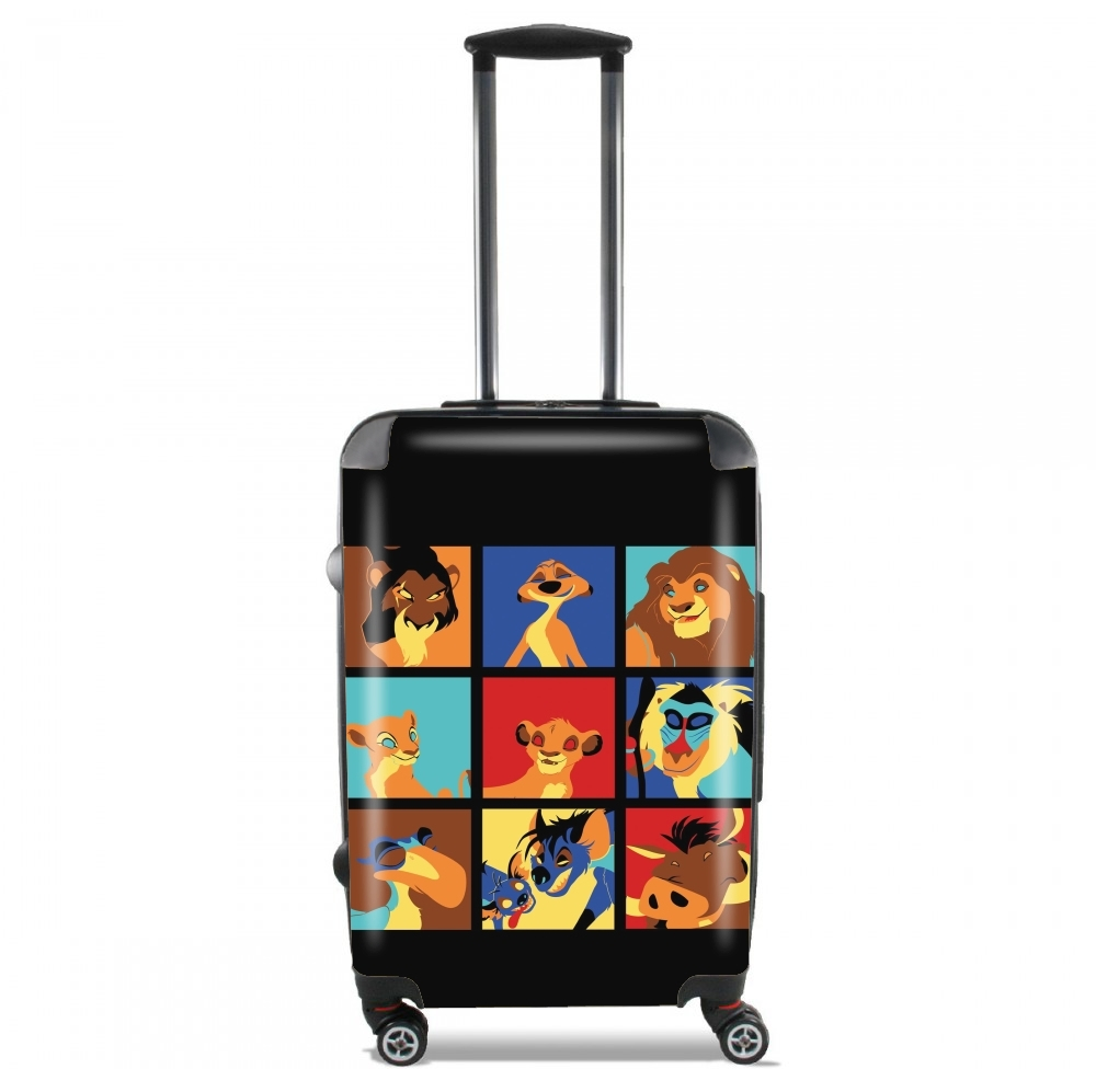 Lion pop for Lightweight Hand Luggage Bag - Cabin Baggage