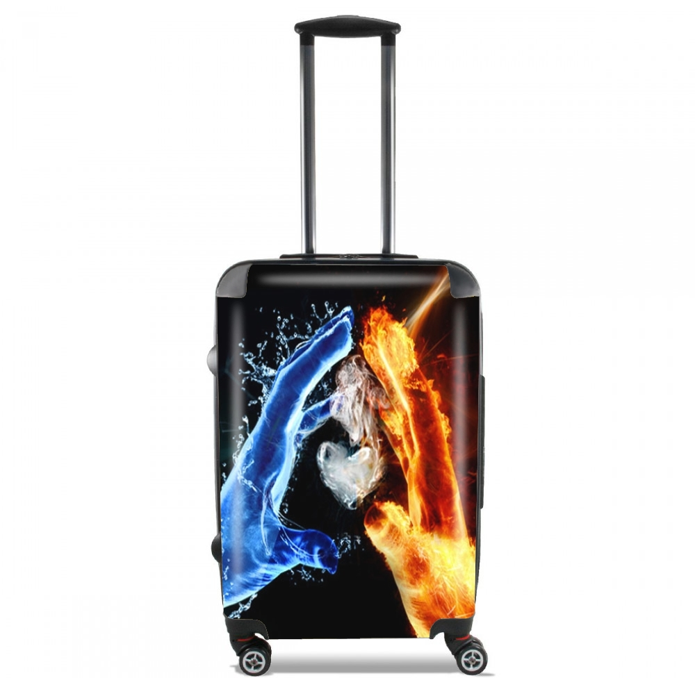Love duet Ice and Flame for Lightweight Hand Luggage Bag - Cabin Baggage