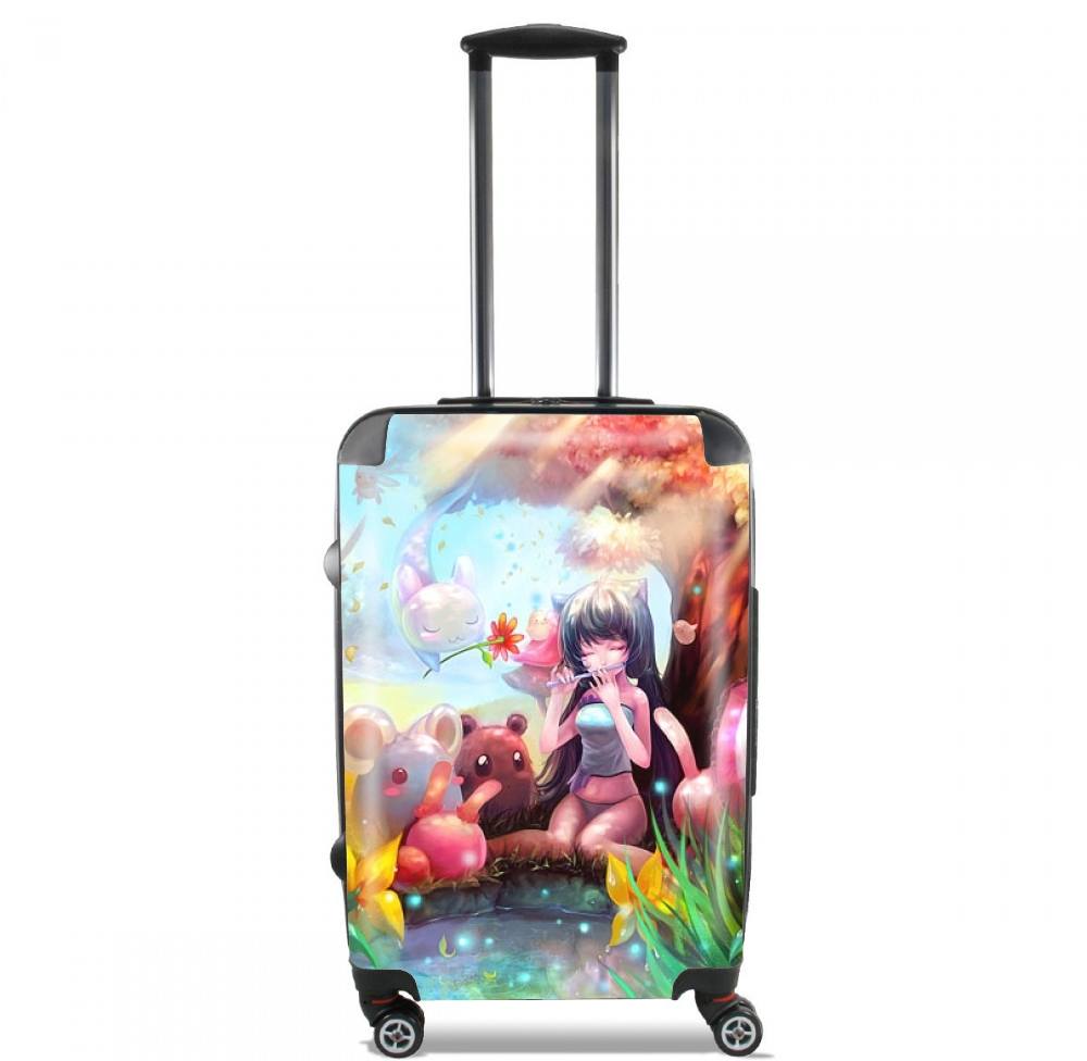 Manga charmer girl for Lightweight Hand Luggage Bag - Cabin Baggage