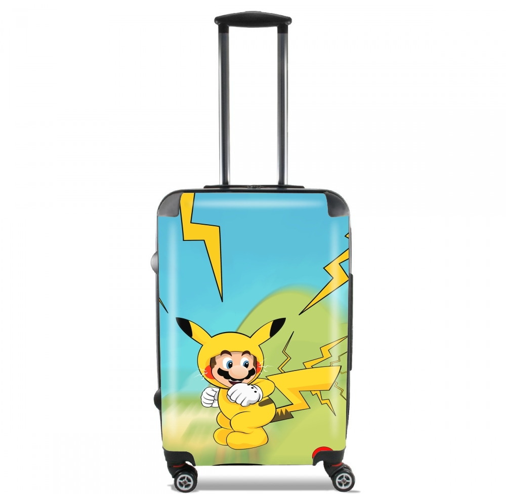 Mario mashup Pikachu Impact-hoo! for Lightweight Hand Luggage Bag - Cabin Baggage