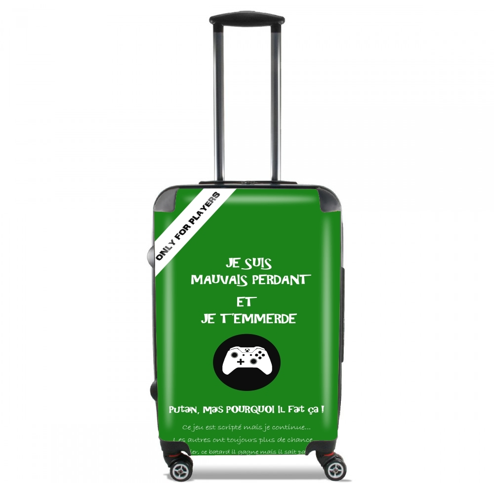 Mauvais perdant - Vert Xbox for Lightweight Hand Luggage Bag - Cabin Baggage