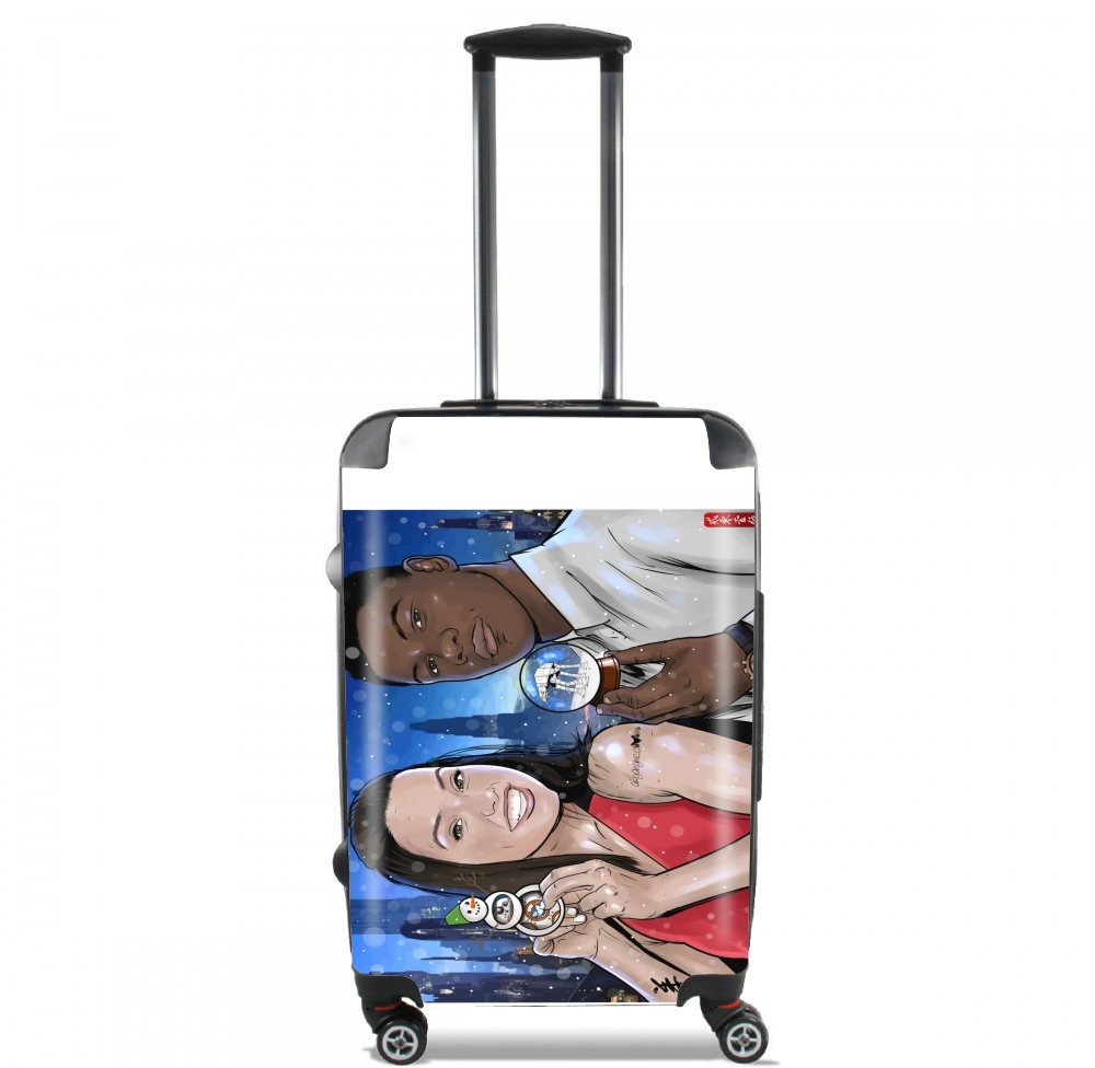 Merry Christmas for Lightweight Hand Luggage Bag - Cabin Baggage