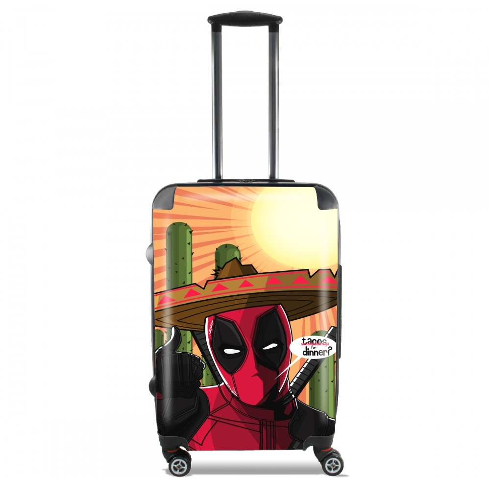 Mexican Deadpool for Lightweight Hand Luggage Bag - Cabin Baggage