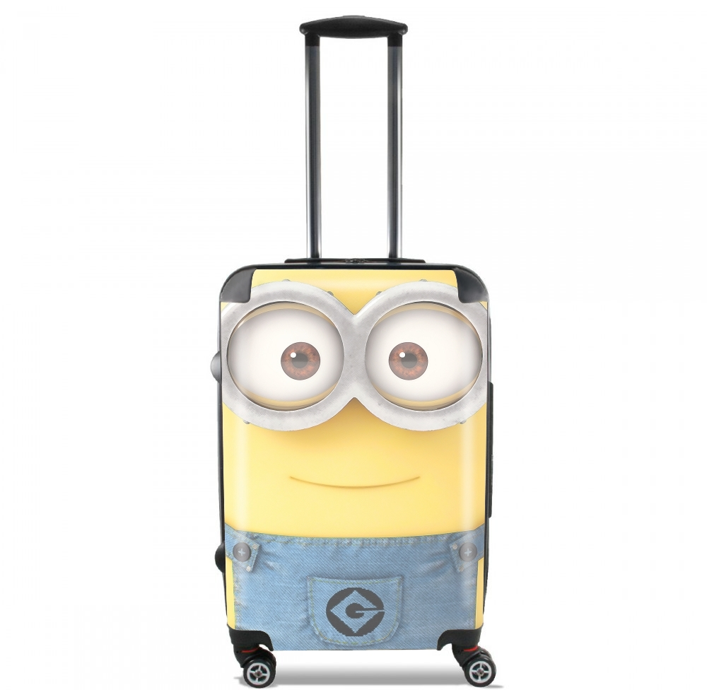 Minions Face for Lightweight Hand Luggage Bag - Cabin Baggage