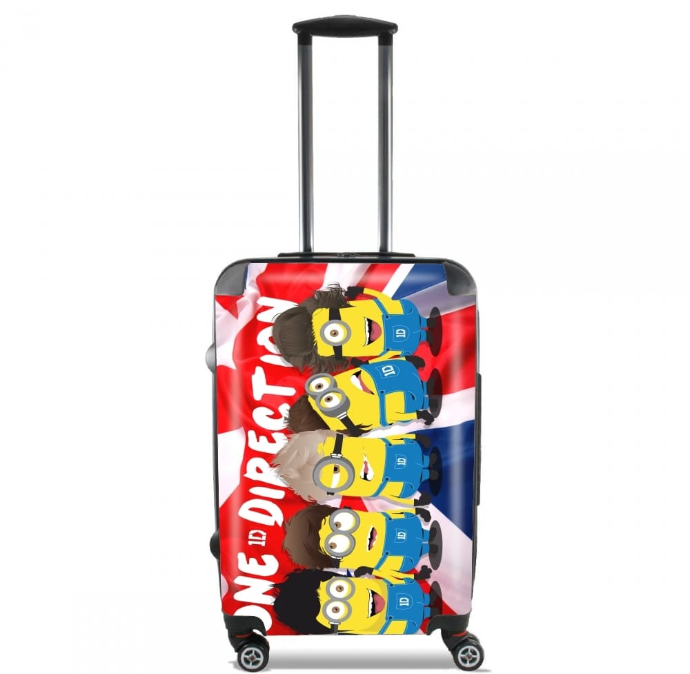 Minions mashup One Direction 1D for Lightweight Hand Luggage Bag - Cabin Baggage