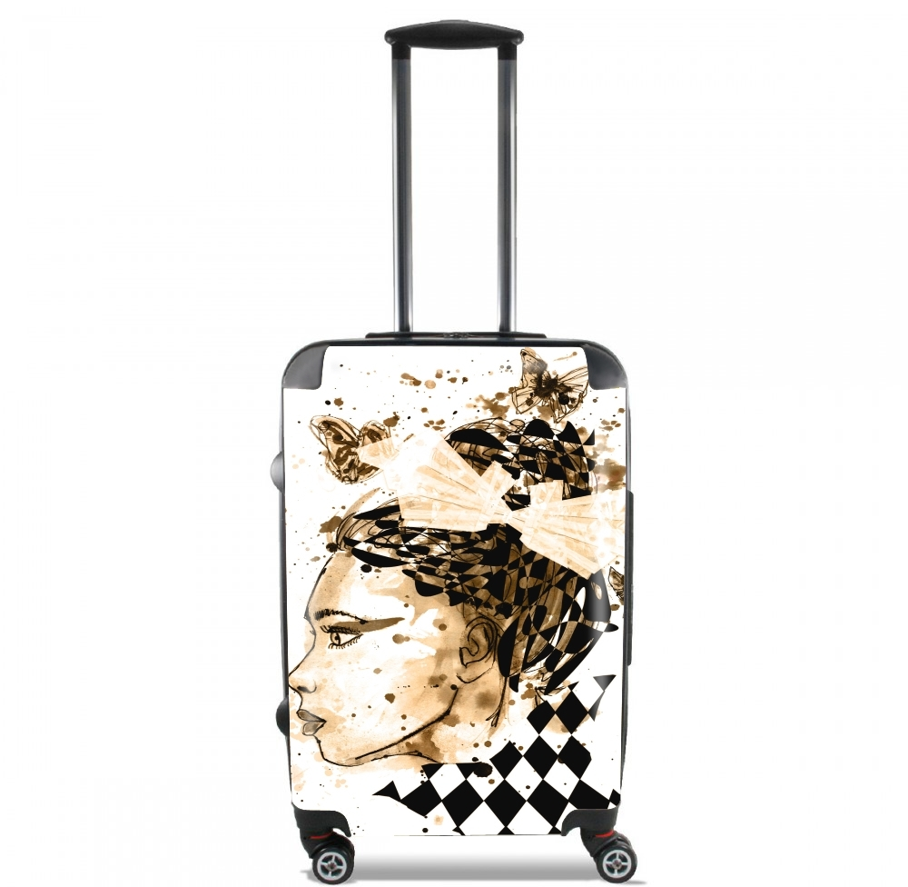 Miss Dee Sepia for Lightweight Hand Luggage Bag - Cabin Baggage