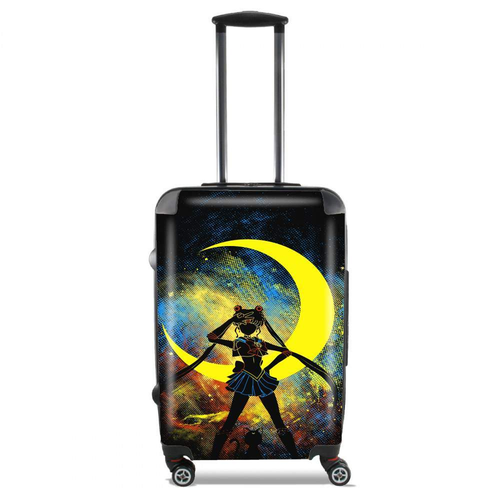 Moon Art for Lightweight Hand Luggage Bag - Cabin Baggage