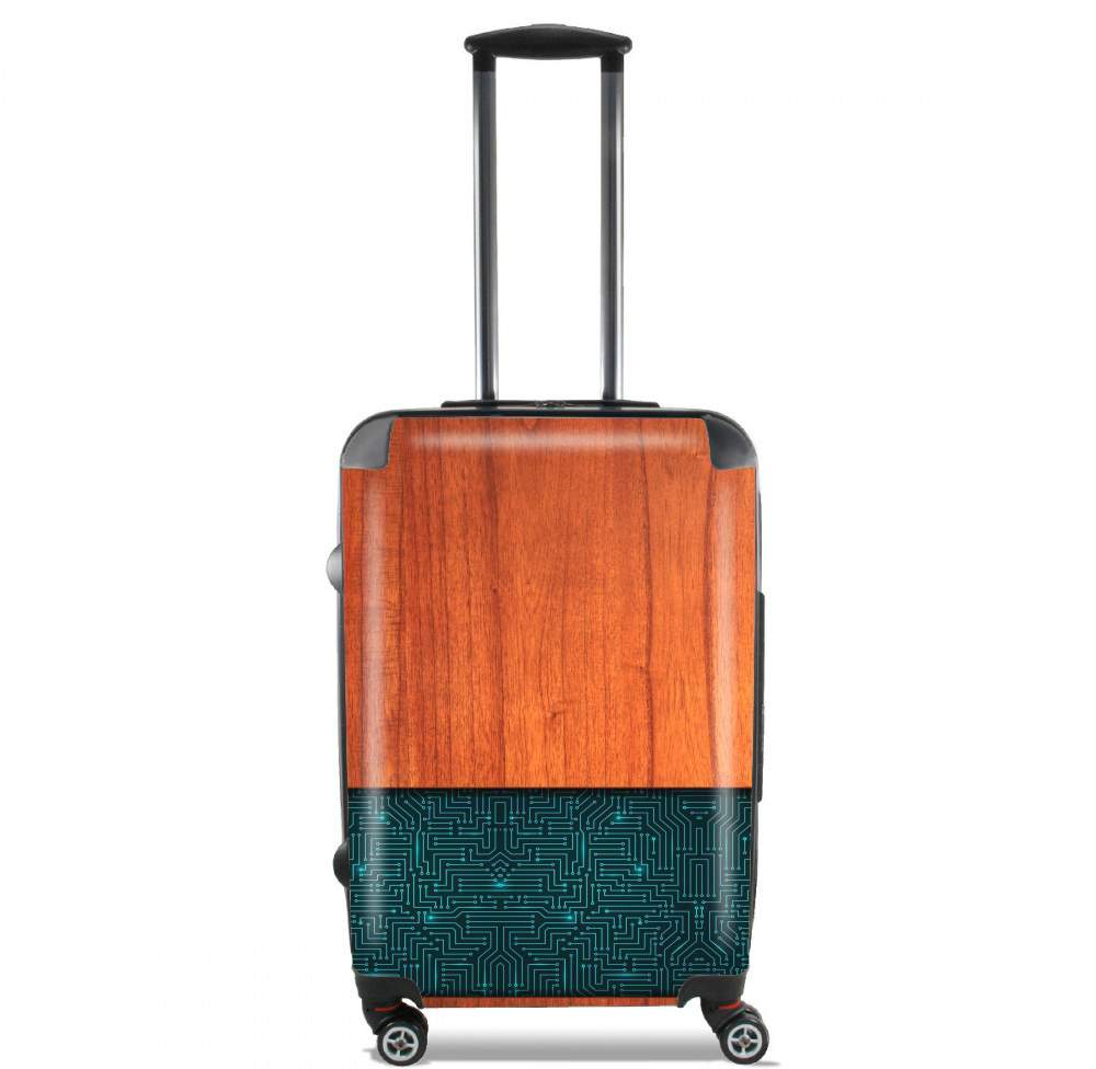 Natural Wooden Wood Bamboo for Lightweight Hand Luggage Bag - Cabin Baggage