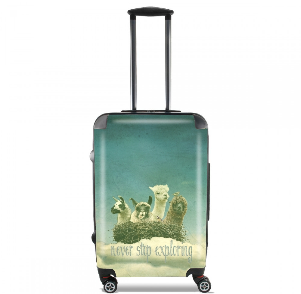 NEVER STOP EXPLORING for Lightweight Hand Luggage Bag - Cabin Baggage