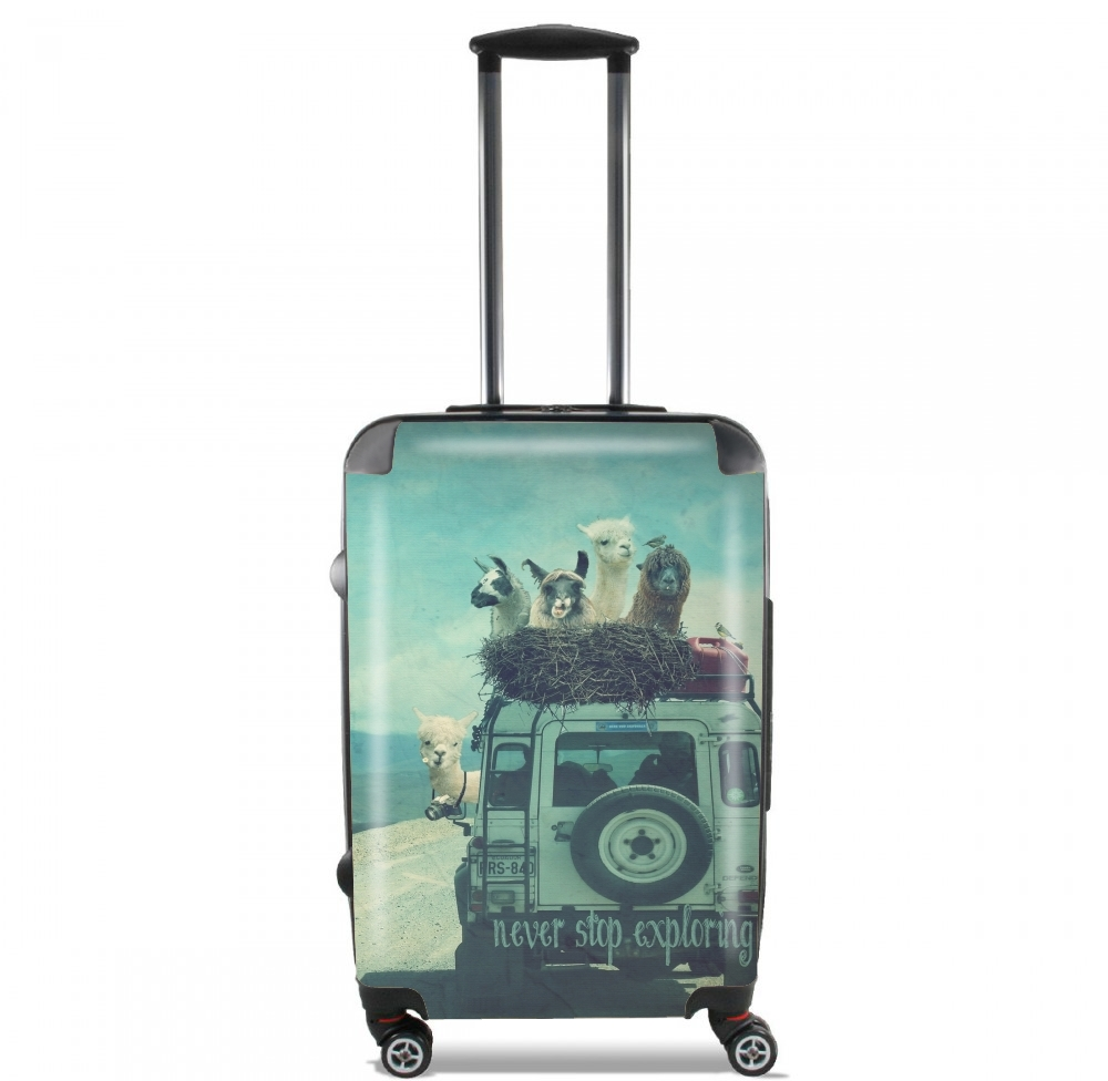 Never Stop Exploring II for Lightweight Hand Luggage Bag - Cabin Baggage