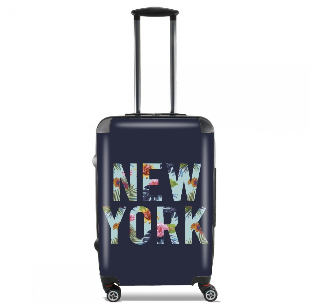 New York Floral for Lightweight Hand Luggage Bag - Cabin Baggage
