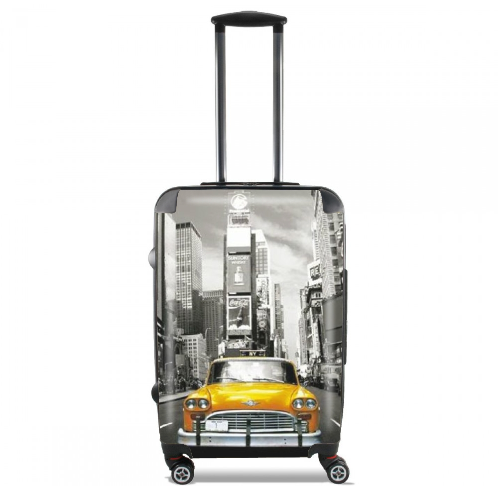 Yellow taxi City of New York City for Lightweight Hand Luggage Bag - Cabin Baggage