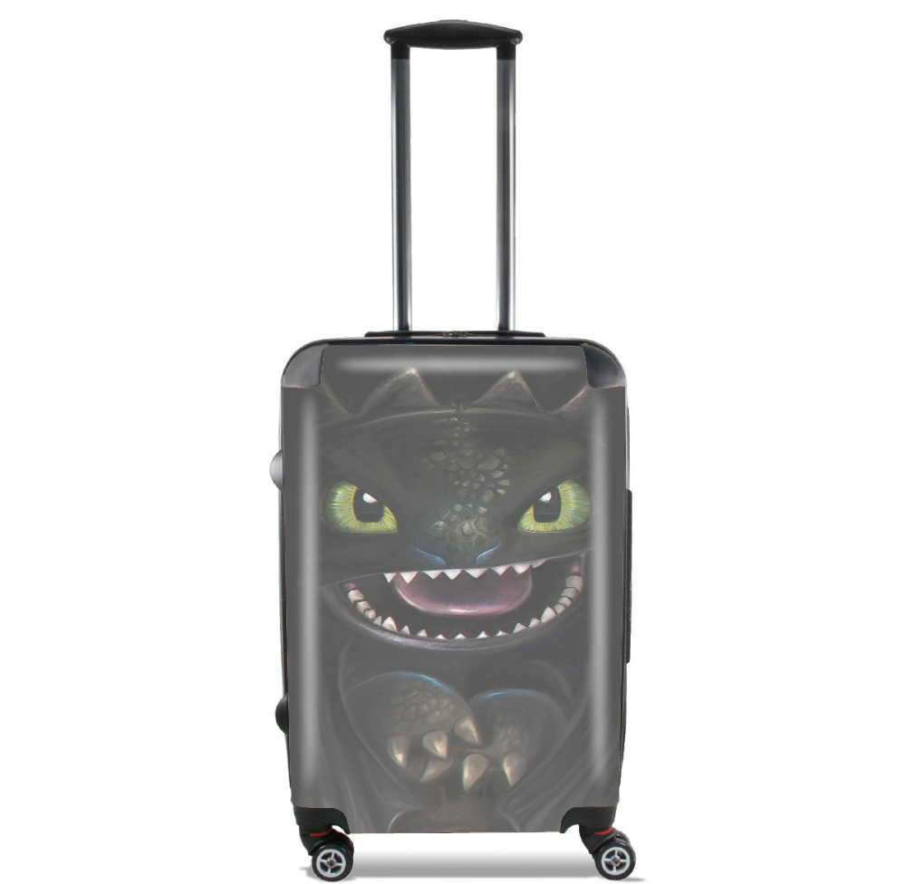 Night fury for Lightweight Hand Luggage Bag - Cabin Baggage