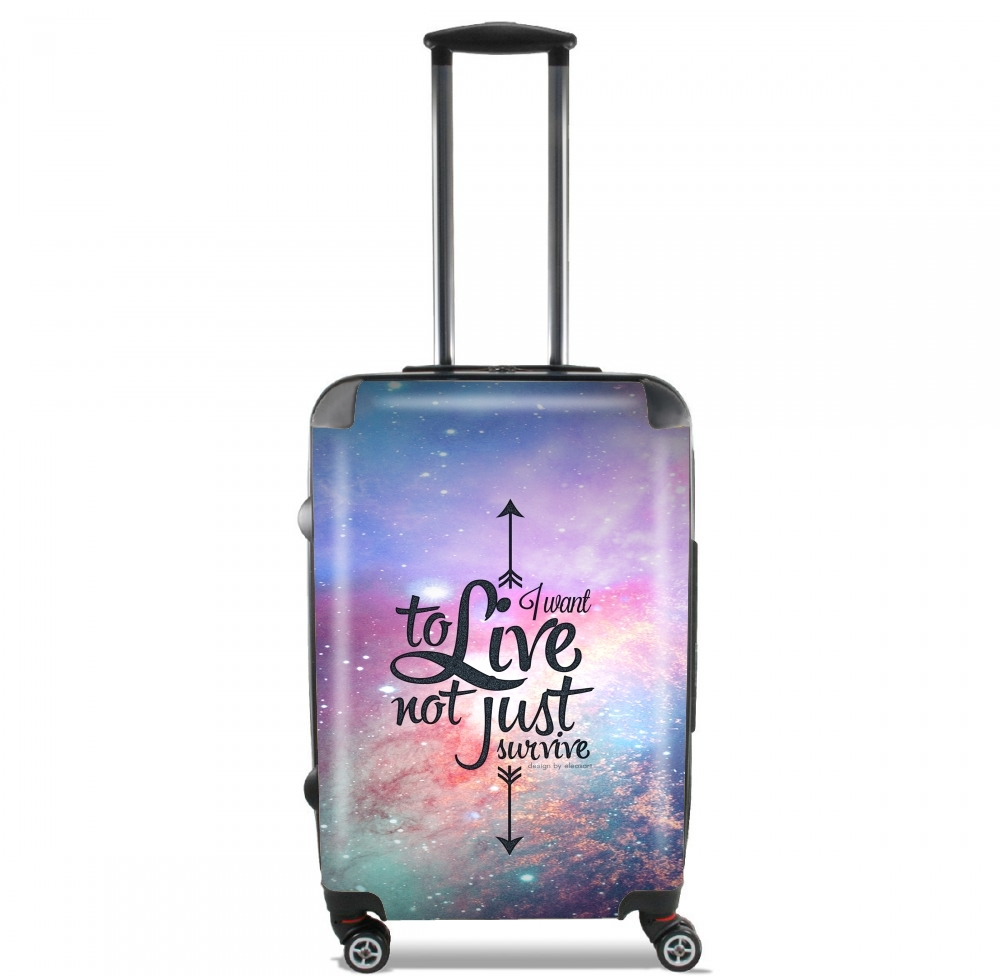 Not just survive for Lightweight Hand Luggage Bag - Cabin Baggage