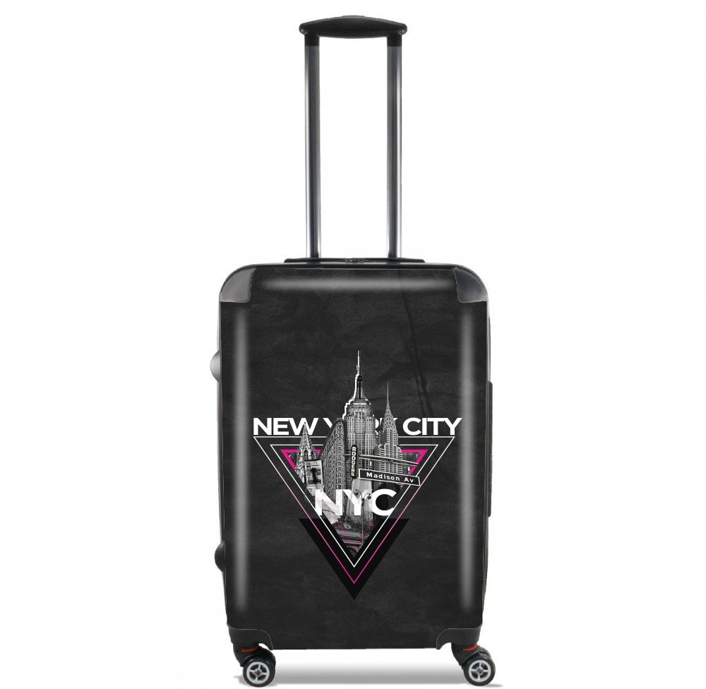 NYC V [pink] for Lightweight Hand Luggage Bag - Cabin Baggage