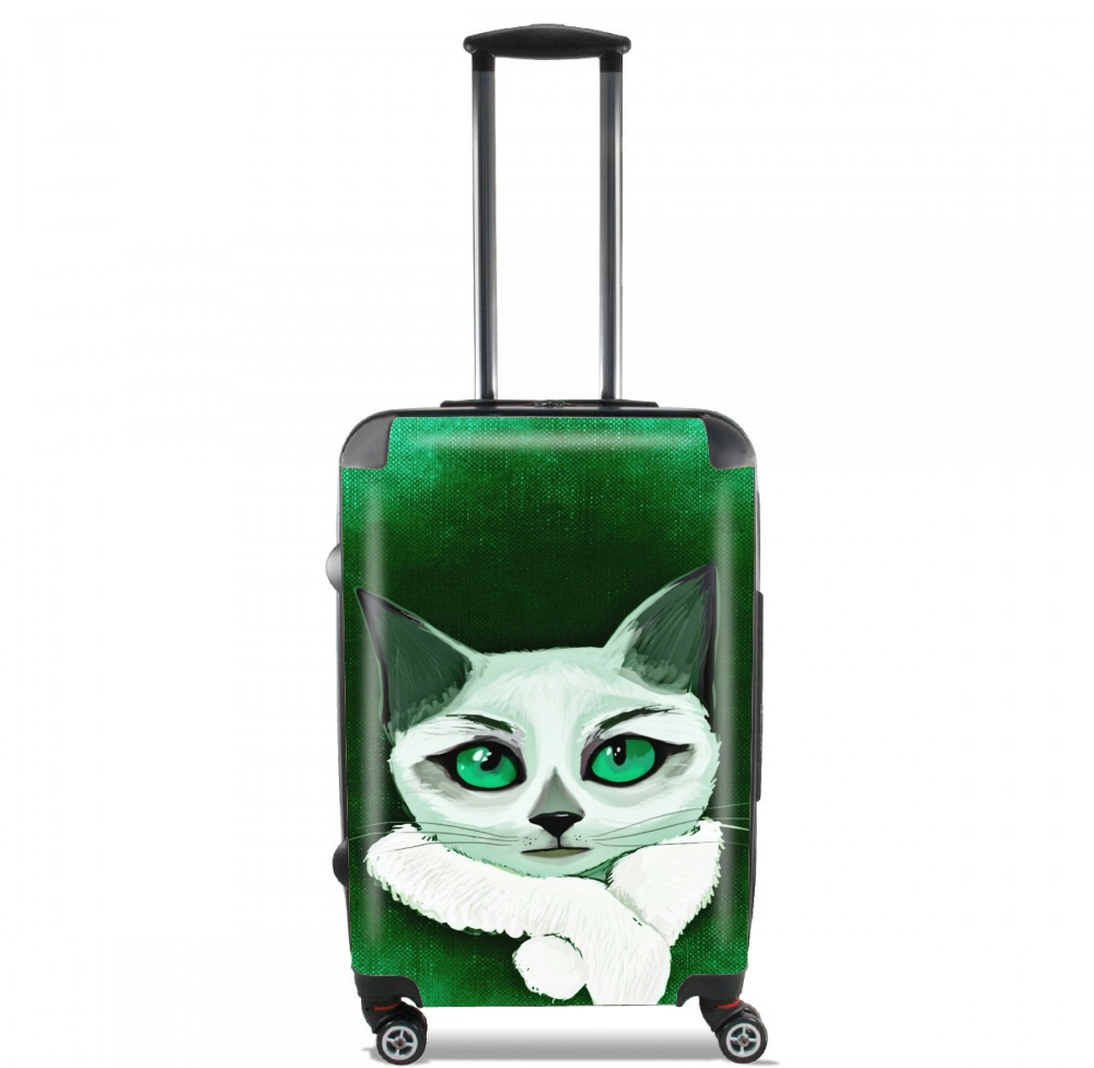 Painting Cat for Lightweight Hand Luggage Bag - Cabin Baggage