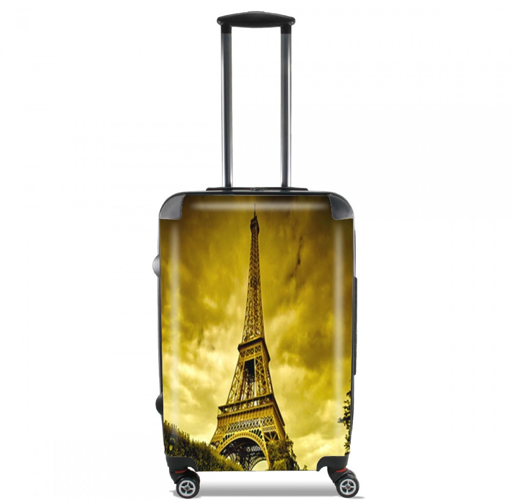 Eiffel Tower By Night from Paris for Lightweight Hand Luggage Bag - Cabin Baggage