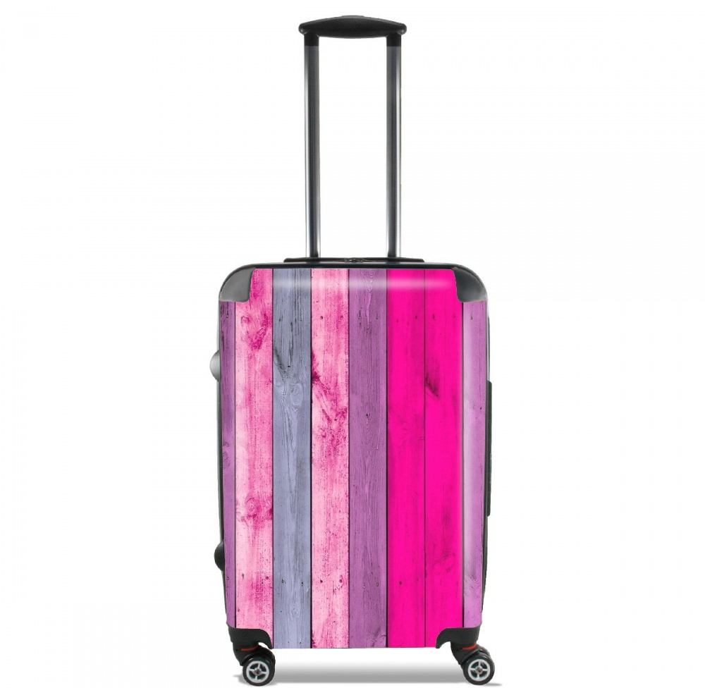 Pink wood for Lightweight Hand Luggage Bag - Cabin Baggage