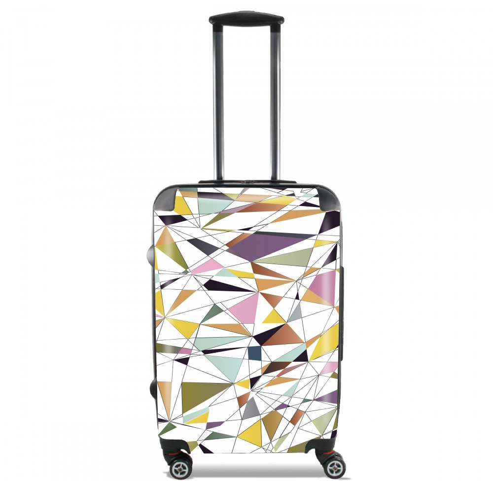 Polygon Art for Lightweight Hand Luggage Bag - Cabin Baggage