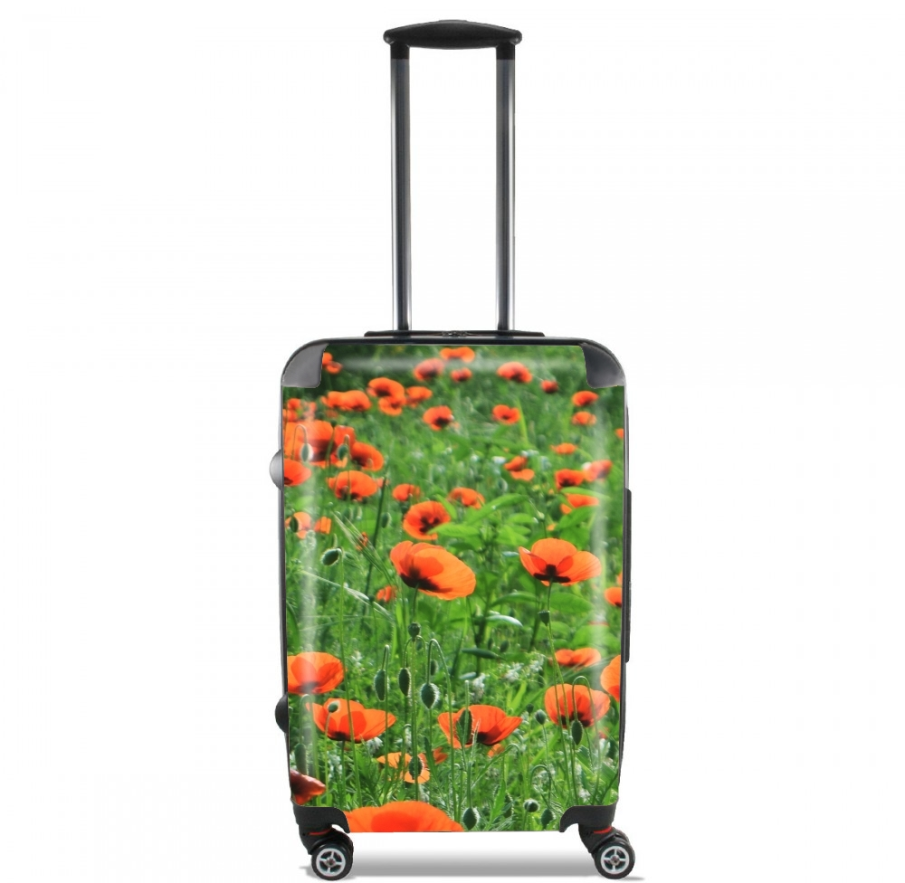 POPPY FIELD for Lightweight Hand Luggage Bag - Cabin Baggage
