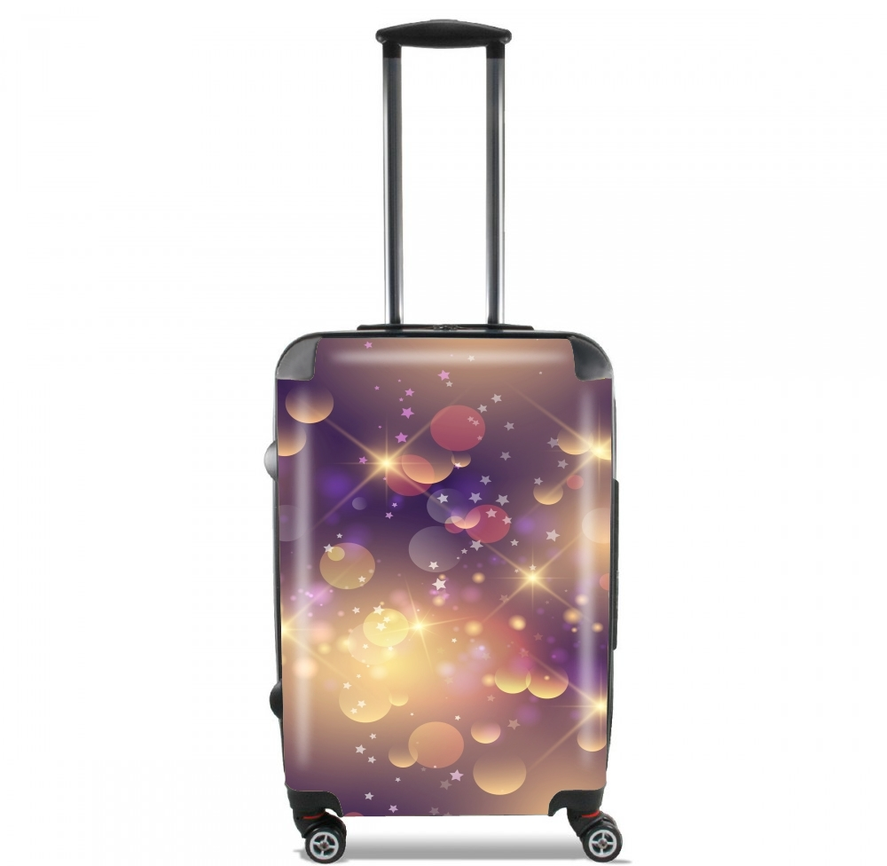 Purple Sparkles for Lightweight Hand Luggage Bag - Cabin Baggage