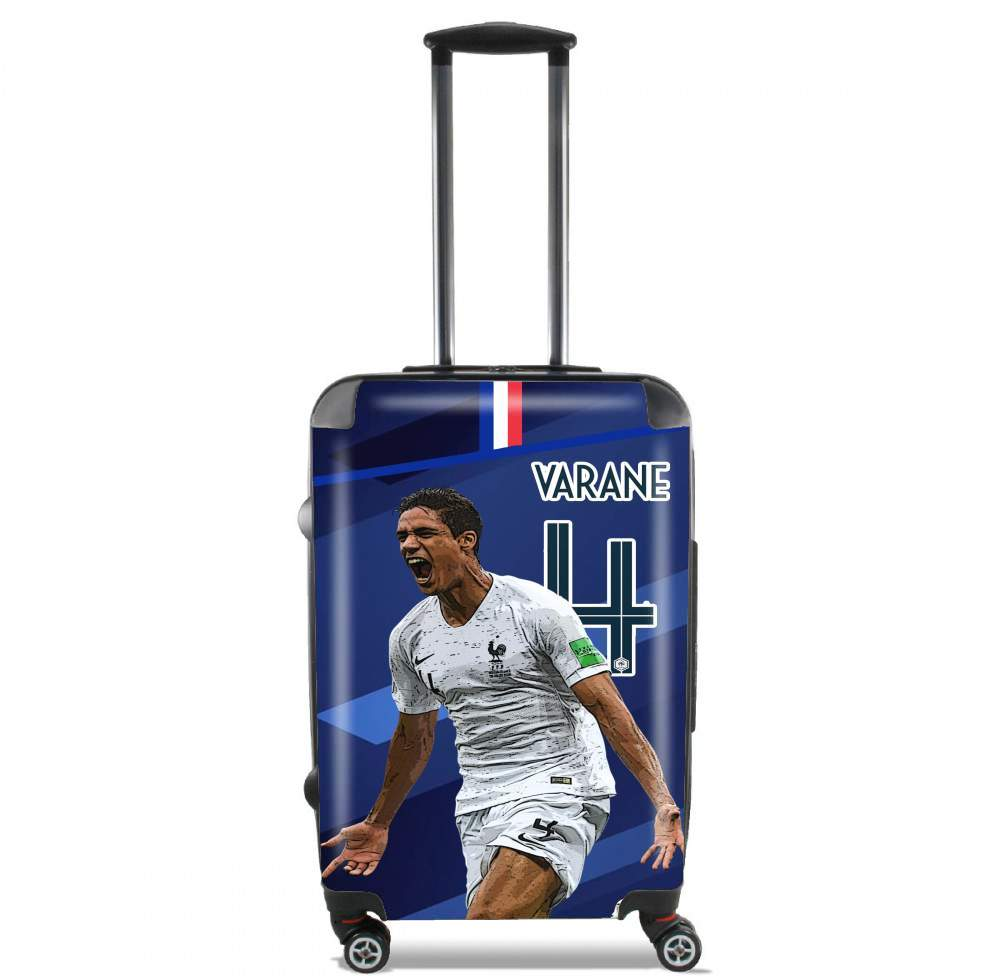 Raphael Varane Football Art for Lightweight Hand Luggage Bag - Cabin Baggage