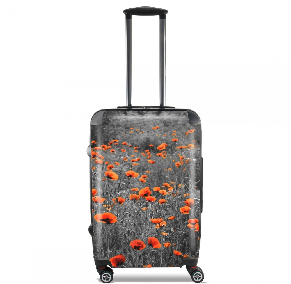 Red and Black Field for Lightweight Hand Luggage Bag - Cabin Baggage