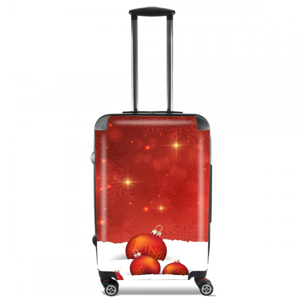 Red Christmas for Lightweight Hand Luggage Bag - Cabin Baggage