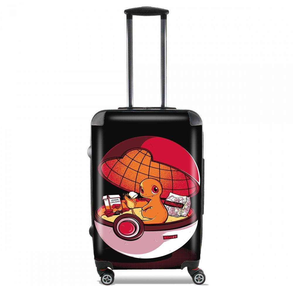 Red Pokehouse  for Lightweight Hand Luggage Bag - Cabin Baggage