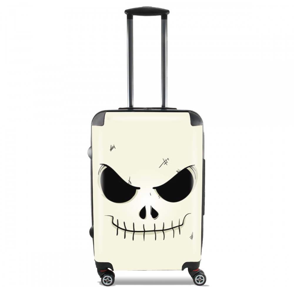 Skeleton Face for Lightweight Hand Luggage Bag - Cabin Baggage