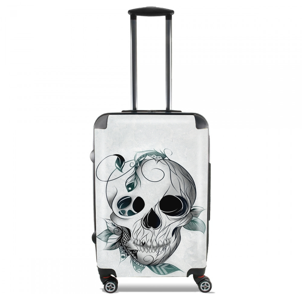 Skull Boho  for Lightweight Hand Luggage Bag - Cabin Baggage