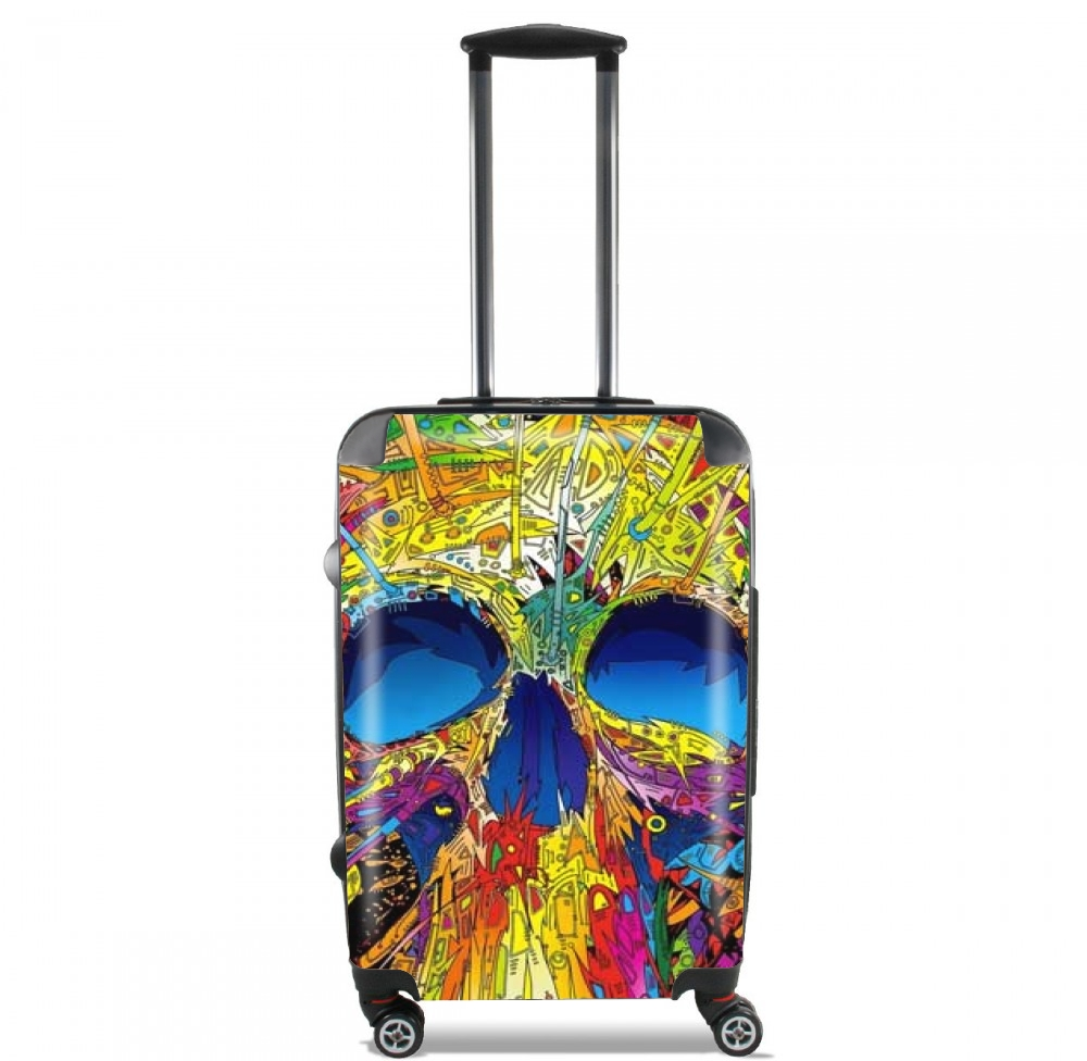 Color Skull Flashy for Lightweight Hand Luggage Bag - Cabin Baggage