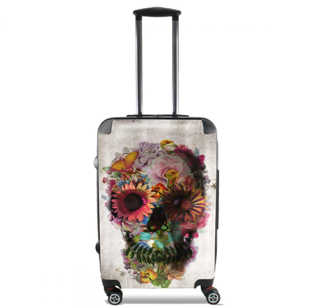 Skull Flowers Gardening for Lightweight Hand Luggage Bag - Cabin Baggage
