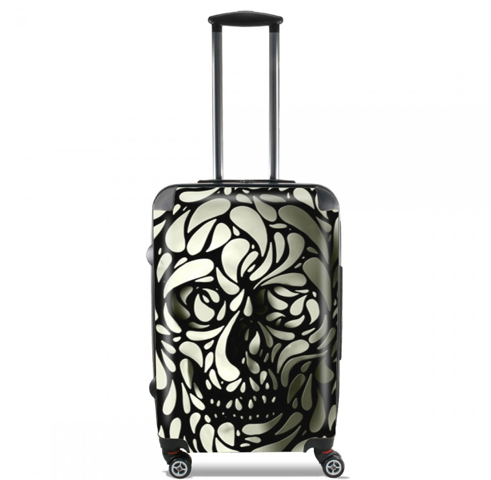 Skull Zebra White And Black for Lightweight Hand Luggage Bag - Cabin Baggage