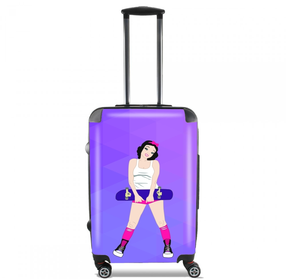 Snow White Skate for Lightweight Hand Luggage Bag - Cabin Baggage